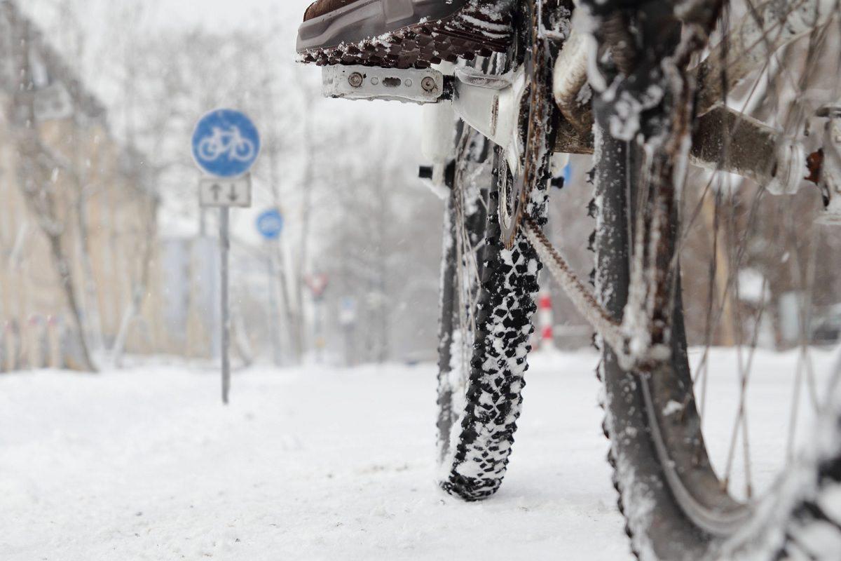 Грижи за колелото през зимата