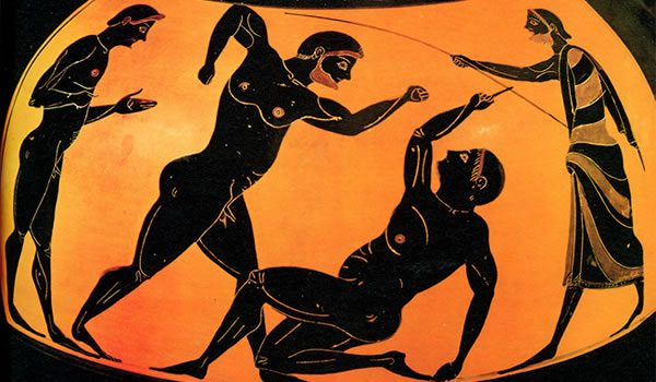 Голата олимпиада от древността до наши дни