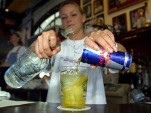 алкохол, енергийни напитки