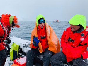 Петър Стойчев, Антарктида, плуване