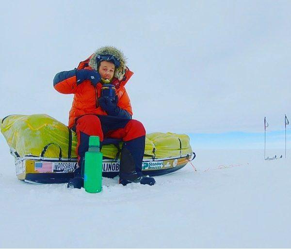 Силата на духа – авантюрист прекоси сам Антарктида