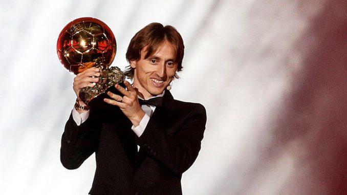 Лука Модрич, Франс Футбол, Златна топка